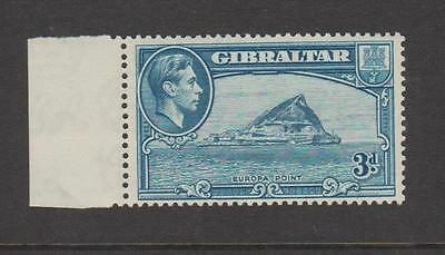 Gibraltar Kgvi Threepenny Sg 125 Fine Mounted Mint Cat £38