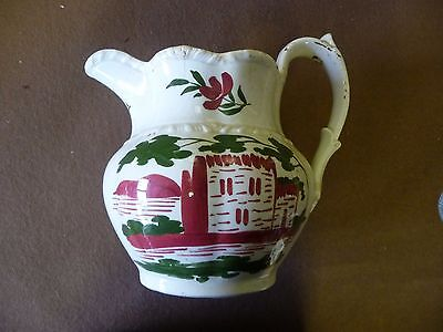 Swansea Pottery jug Wales Welsh antique early 19th century
