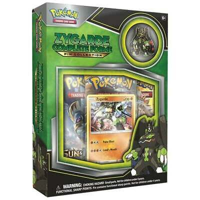 Pokemon TCG: Zygarde Complete Forme Pin Collection