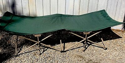 Coleman Quick Cot Easy Erect Camping Stretcher Bed XL Great Condition