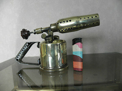 ANTIQUE tool SOLDERING expresse 35b OLD WELDING BRASS BLOWTORCH TORCHES COPPER