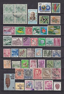 Another Good Lot Of Countries Beginning With J And K - 47 Mint / Used Stamps