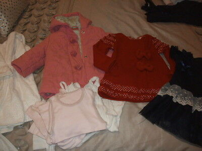 Bulk 11 Items Of Girls Clothes Size 1 To 3