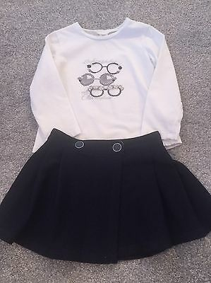 Girls Mayoral Outfit Age 3 Excellent Condition