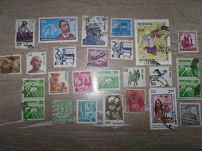 Collection Of Used India Stamps