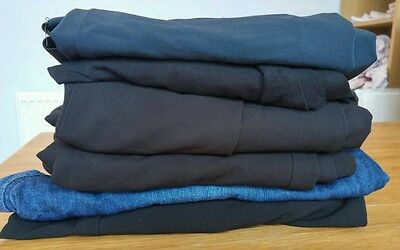 Bundle of maternity trousers x6. Next x4 Asos x1 and evie x1 Size 18