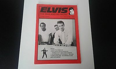 elvis the man and his music mag no.2 rare!