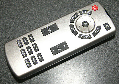OEM - Toyota Sequoia Highlander DVD Entertainment Remote OEM TV Rear 86170-34030