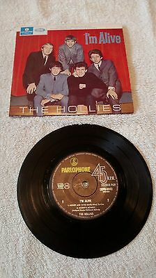 """The Hollies Im Alive 7"""" EP"""