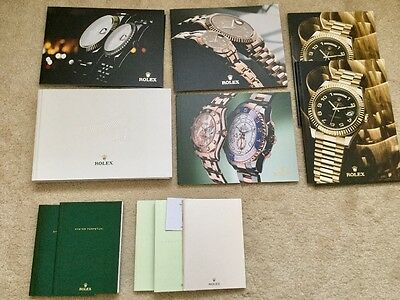 Luxury Watch Catalogues - Rolex Omega etc. 20+