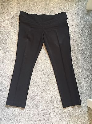 Over The Bump Maternity Trousers Size 8