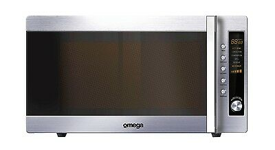Omega stainless steel convection microwave oven very good condition