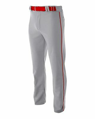 A4 Pro Style Open Bottom Baggy Cut Baseball Pant