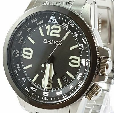 Seiko Prospex Brand New Men's Compass Automatic Watch Srpa71K1