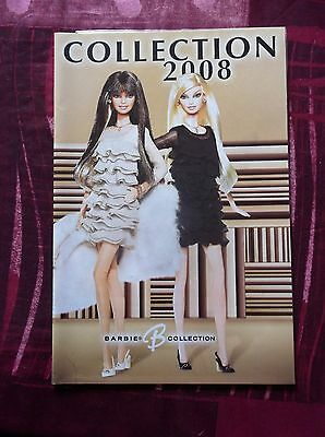barbie collection/collector catalogue 2008