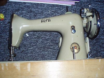 A Fantastic Vintage Alfa Sewing Machine