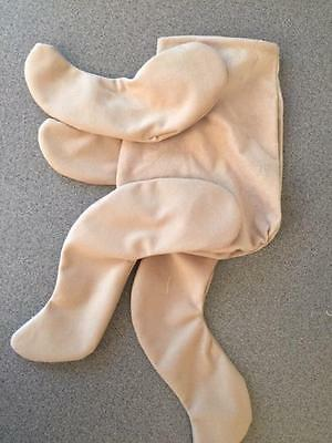 Beige or White Reborn Doll Body (bodysuit style)  only need head & body stuffing