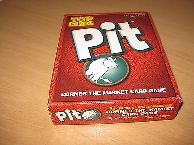 Pit Card Game Bull & Bear Edition Complete top cards 1996