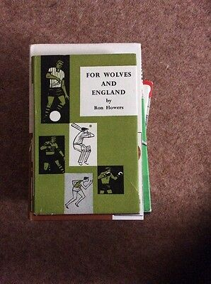For Wolves And England By Ron Flowers