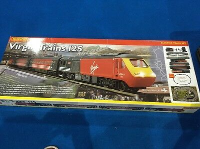 HORNBY Virgin Trains 125 Electric Train 00 Set R1023- Hardly Used
