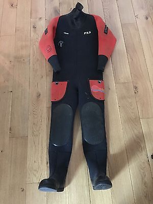 Northern Diver dry suit and hood