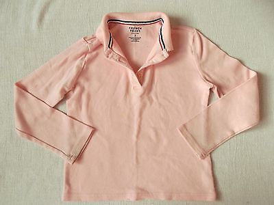 Girls Pink Long sleeved Shirt, Official School Wear by French Toast, size 7