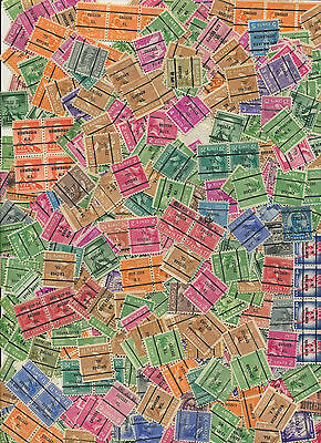 Precancels Old Time Hoard Lot of 100 Assorted Great for Searching - Trading