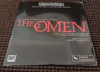 """The Omen 7"""" Vinyl Motion Picture Score Double Sided Record SEALED RS DAY"""