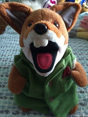 Basil Brush Talking Soft You Hand Puppet