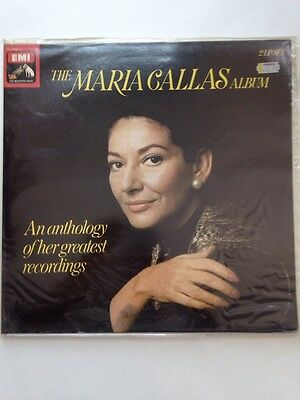 THE MARIA CALLAS Album An Anthology of her greatest recordings* 2 LP SET