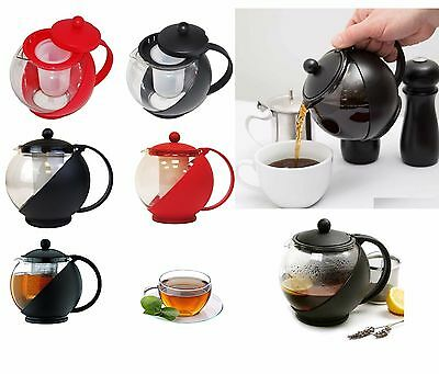 1.2 Litre Glass Infusion Teapot Tea Pot With Infuser Contemporary Kitchen Design