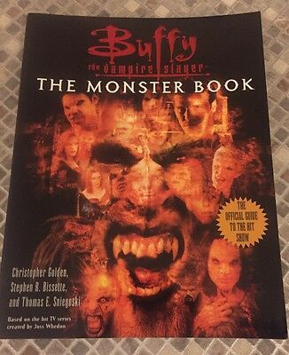 Buffy The Vampire Slayer Official The Monster Book