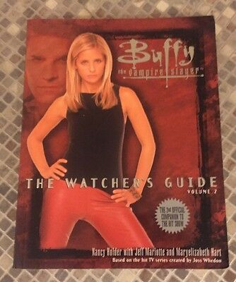 Buffy The Vampire Slayer Book The Watchers Guide Volume 2