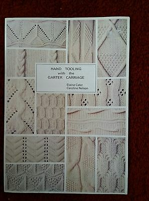 hand tooling for the garter carriage.  please see description and photos