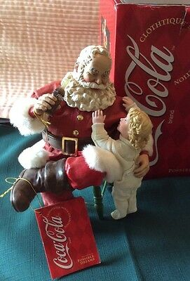Possible Dreams Clothtique Coca-Cola Santa Thanks For The Pause That Refreshes