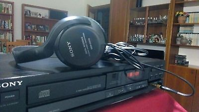 lettore cd  ___ SONY CDP-190 __ PHILIPS TDA1543