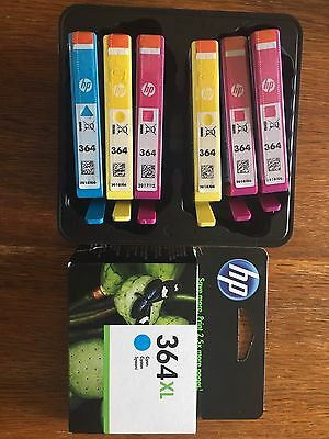 Genuine HP 364 and 364xl Cartridges