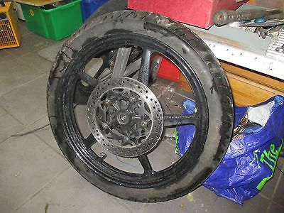 Yamaha Ybr125 2012 Front Wheel With Tyre And Disc