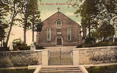 THE CHAPEL NEWTOWNHAMILTON ARMAGH IRELAND POSTCARD by W A CLARKE POSTED in 1910