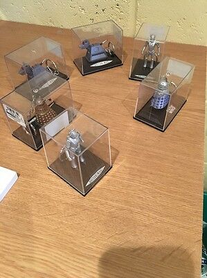 dr who figures collection