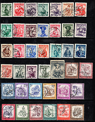 Austria Collection of used stamps