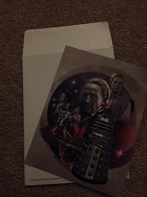 Dr Who Limited Edition Print - First Encounter With The Daleks