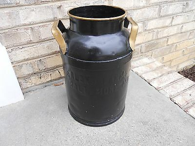 Vintage antique Primitive Cloverland Farm Dairy Baltimore MD. 5 Gallon milk can