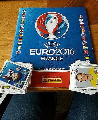 New Panini Uefa Euro 2016 France Official Sticker Album (Empty) with 350 sticker