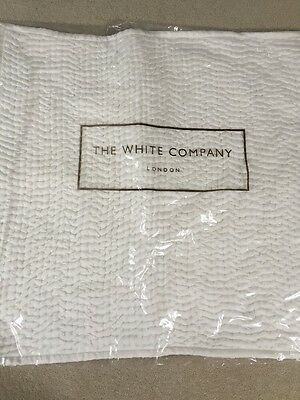 White Company 2 Large Square Cushion Covers