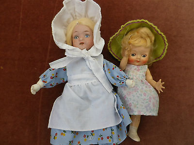 Pedigree Doll And Old Head On Made Up Body
