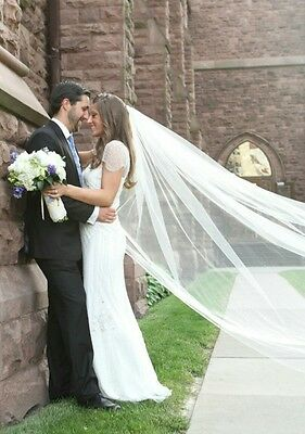 Simple & Elegant Cathedral Veil