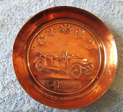 DAIMLER Promotional Copper Dish ~ King George V Coronation 1911 Souvenir