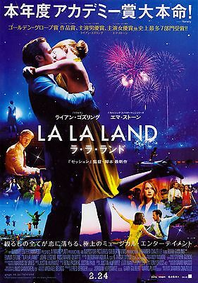 LA LA LAND Japan Promotional brochure Golden Globe Awards