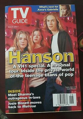 Hanson Set (includes magazine, photo cards, and tshirt)